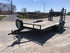 1999 H&H T/A Flatbed Trailer