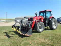 2008 Case IH Puma 195 MFWD Tractor W/Koyker 1585 Pro Loader