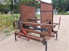 Shop Built Hydraulic Corn Bag Roller