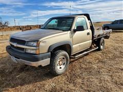 2004 Chevrolet K2500 4x4 Pickup