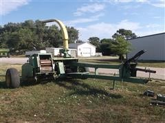 John Deere 3940 Pull Type Silage Cutter