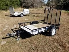 2014 Carry On 5x8 Utility Trailer