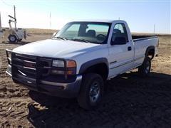 2000 GMC 2500 4x4 Pickup
