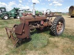 Farmall H 2WD Tractor & Buzzsaw