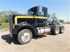 1983 Kenworth Construction W900 T/A Truck Tractor