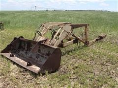 Ford I9-425 Hydraulic Loader Frame & Bucket