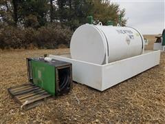 1500-Gal Bulk Fuel Tank W/Containment