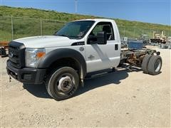 2013 Ford F550 Super Duty Cab & Chassis Pickup
