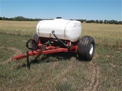 Watts 2 Wheel Tow Between Fertilizer Cart