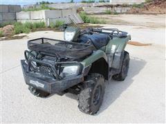 2015 Honda Rubicon Foreman 500 4x4 ATV