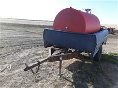500 Gallon Fuel Tank On Ford Pickup Box Trailer