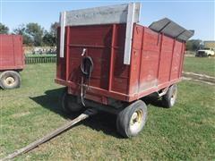 Heider 10' Harvest Wagon On John Deere Running Gear