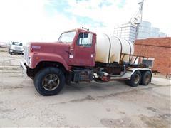 1983 International F2574 T/A Liquid Fertilizer Truck