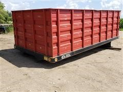 Omaha Standard 16' Steel Truck Grain Box