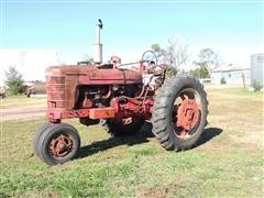 1941 Farmall M 2WD Tractor With John Deere No.5 Sickle Mower