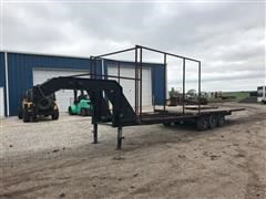 2013 Homemade T/A Flatbed Trailer