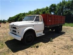1967 Chevrolet C50 Grain Truck W/15' Bed & Hoist
