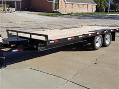 2019 H&H Full Tilt Bed T/A Trailer