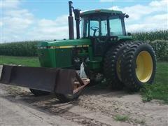 1991 John Deere 4455 2WD Tractor