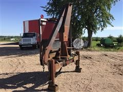 Schwartz Truck Mounted Hydraulic Boom Crane