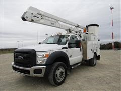 2012 Ford F550 4WD Bucket Truck
