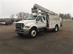 2010 Ford F650 2WD Bucket Truck