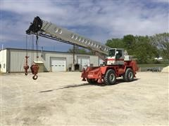 1991 Link-Belt HSP-8028S 4X4X4 Rough Terrain Crane