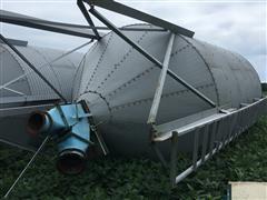 500 Bu Dismantled Overhead Grain Bin