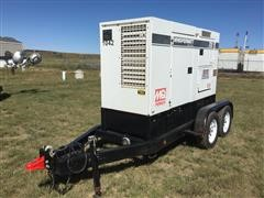 2011 Multiquip DCA-70US12 Trailer Mounted Generator (For Parts Only)