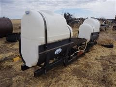 Broyhill 200 Gallon Saddle Tanks W/3 Pt Mount