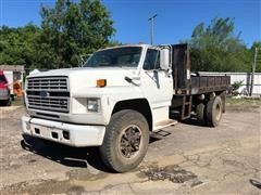 1992 Ford F600 2WD Dump Truck