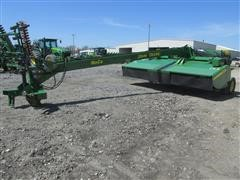 2013 John Deere 956 Windrower