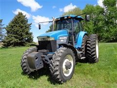 1997 New Holland 8970 Genesis MFWD Row Crop Tractor