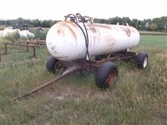 1967 Trinity Steel Co 1000 Gallon Anhydrous Tank