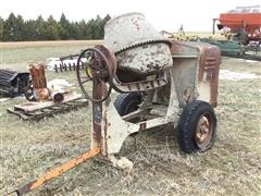 Jaeger Dual Mix Cement Mixer