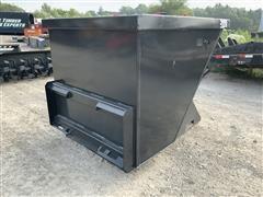 2020 Industrial 2-Yard Dumpster Skid Steer Attachment