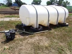 2000 Gal Poly Liquid Fertilizer Tank