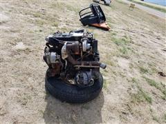 1990 Isuzu 4BD1T 4 Cyl Turbo Diesel Engine