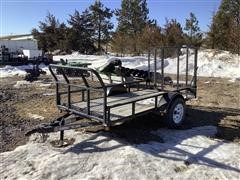 2009 Load Max S/A Utility Trailer