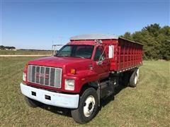 1995 GMC Topkick 18' Grain Truck