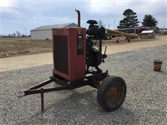 Perkins Power Unit W/Trailer