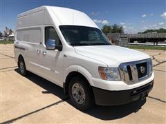 2012 Nissan NV3500 HD 4x4 Full Size Utility Van