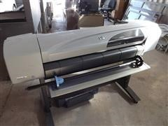 Hewlett Packard C7770B Map Printer & CP1700 Inkjet Printer