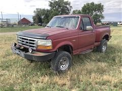 1992 Ford F150 Flare Side 4x4 Pickup