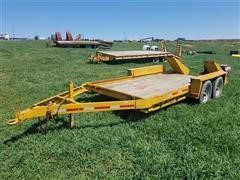 1987 Belshe WB2 T/A Flatbed Tailer