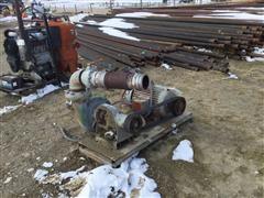 "Crane Deming 4021 4"" Pump W/25 HP Electric Motor"
