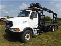 2005 Sterling LT9500 Tri/A Knuckleboom Loader Truck
