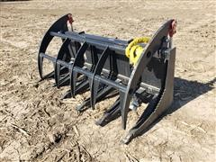 2020 Mid-State Heavy Duty Brush Grapple Skid Steer Attachment