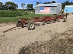 Shop Built Header Trailer On Westendorf Running Gear