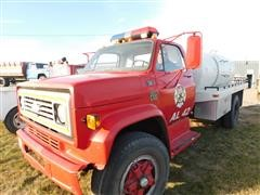 1978 Chevrolet C65 Custom Deluxe Fire Water Supply Truck